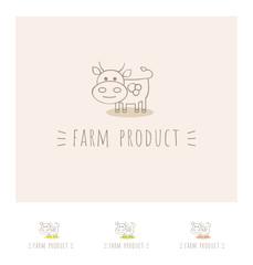 cow flat logo