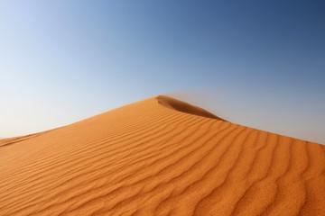 "Red sand ""Arabian desert"" near Dubai, UAE"