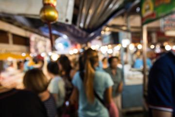Blur or Defocus image in Thailand market.