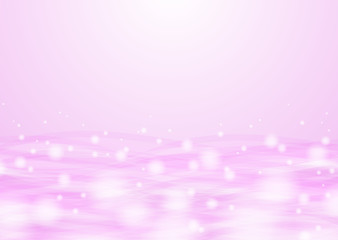 Abstract Pink Wave Background #Vector Graphic