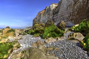 Coastal Rocks in Normandy, France