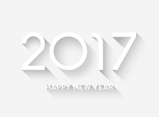 2017 / Flat design Fototapete