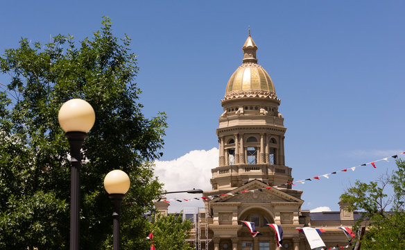 Cheyenne Wyoming Capital City Downtown Capitol Building Legislat