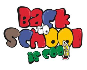 Back to school design illustration