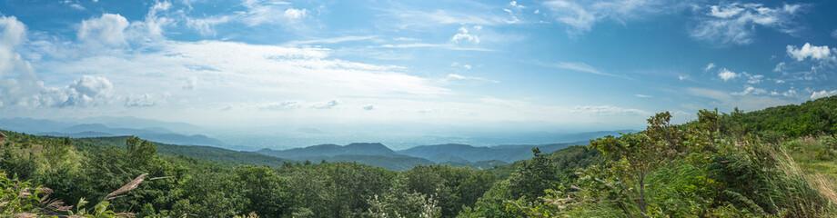 吾妻連峰からの眺望