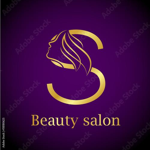 """Abstract letter S logo,Gold Beauty salon logo design ... - photo #11"
