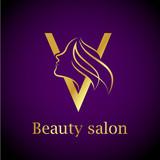 Abstract letter e logobeauty salon logo design template stock abstract letter v logogold beauty salon logo design template thecheapjerseys Gallery