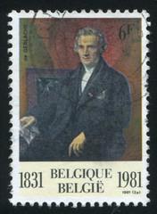 Baron de Gerlache, by F.J. Navez