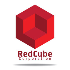 red cube logo
