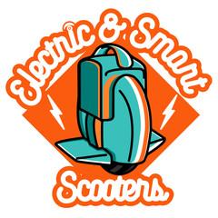 Smart Self Balancing Electric Scooter emblem