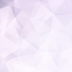 Background made of triangles. Square composition with geometric