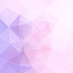 Abstract geometric style pink background. Pink business background
