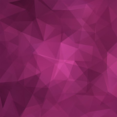 Abstract geometric style pink background. Business backdrop
