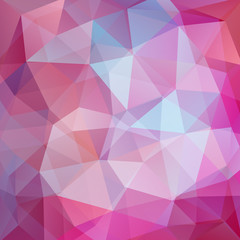 Abstract geometric style pink background. Purple business background