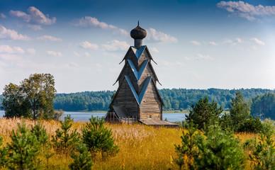 Wooden Church of St. John the Baptist in the village of Shirkovo
