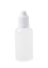 Plasic 30 ml bottle isolated