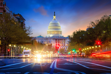 Fotomurales - Capitol building in Washington DC