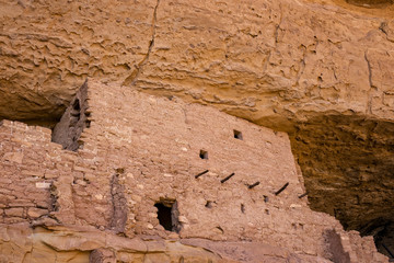 Long House Ruins, Mesa Verde National Park, Colorado, USA