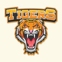 tiger logo illustration design
