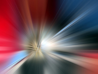 Abstract background in blue, red, white colors