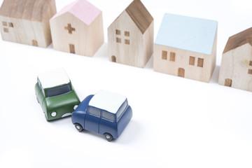 交通事故現場のイメージ
