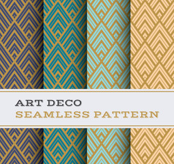 Art Deco seamless pattern 12