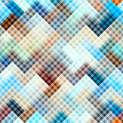 Diagonal plaid background