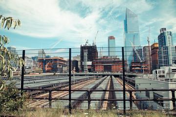 Manhattan subwey depot, New York City