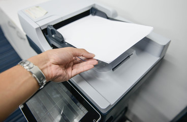 Using the printer to scanning the document