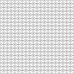 Monochrome background.  Endless abstract backdrop.  Geometric  seamless texture.  Modern repeating illustration.  Black and white pattern. .