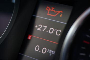 Car oil icon