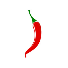 Red hot chili pepper - Vector