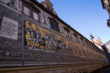 Wall Mural - Fürstenzug, Dresden