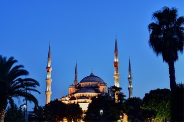 Sultan Ahmet Mosque is a historic mosque located in Istanbul, Turkey