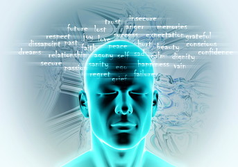 Psychology, Hypnosis or meditation concept