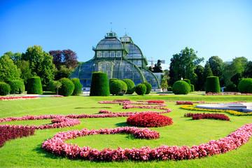 Orangery in the park in Vienna