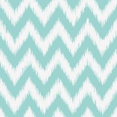 Seamless geometric pattern, ikat fabric style.