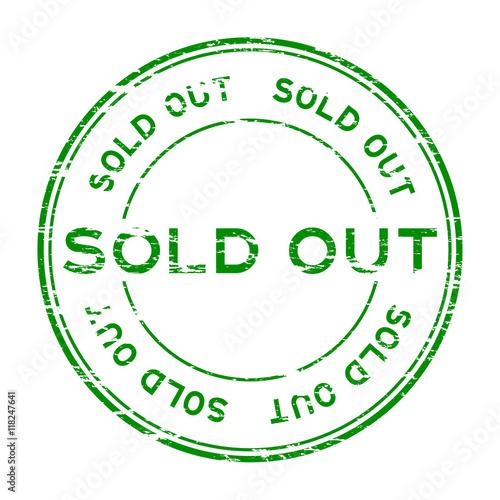 Grunge green sold out rubber stamp im genes de archivo y for T green srl