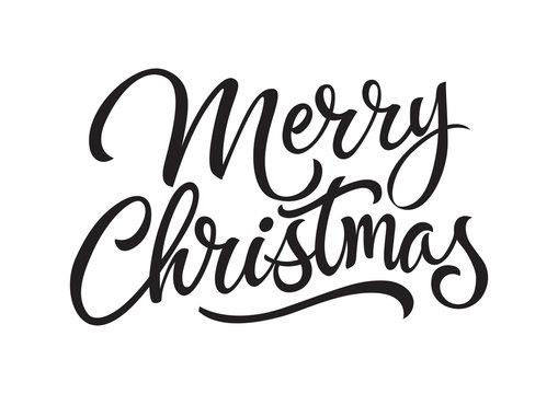 Merry Christmas Lettering 2