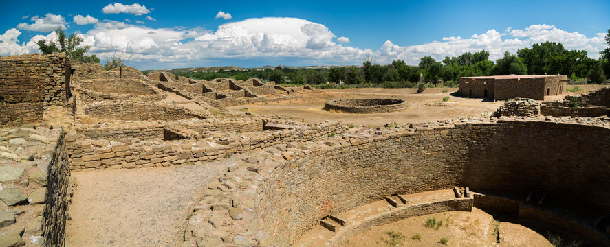 Aztec Ruins National Monument in New Mexico.