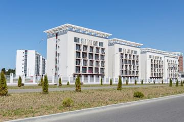 four buildings of Bridge Resort hotel
