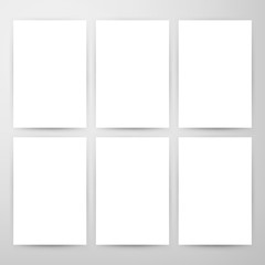 Blank Posters Mockup Template