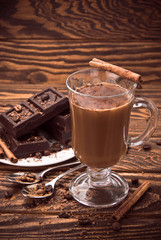 Coffee and chocolate