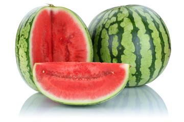 Wassermelone geschnitten frische Früchte Frucht Obst Sommer Fre