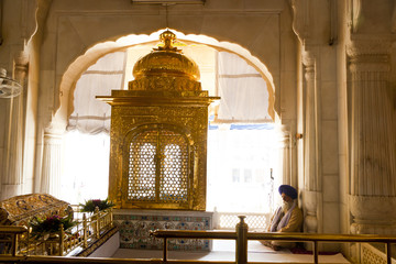 Shrine inside Golden Temple