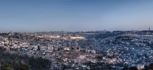 Jerusalem At Dawn