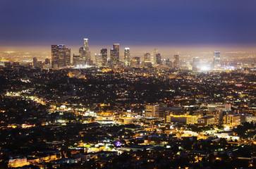 Large City at Night