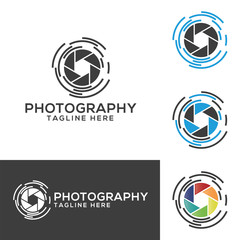 Photography creative design vector