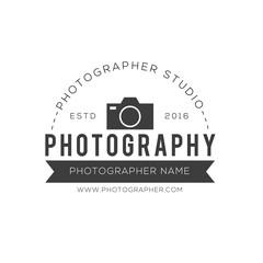 Photography creative design vector