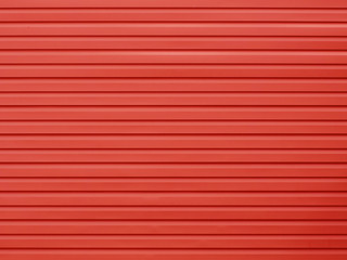 Plastic board red wall texture